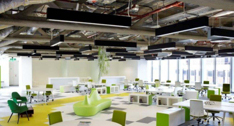 open office ceiling decoration idea. Do Open Office Designs Miss The Point? Open Office Ceiling Decoration Idea